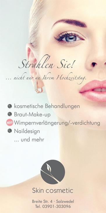 skin cosmetics Hochzeitsmesse Salzwedel 22. Januar 2017